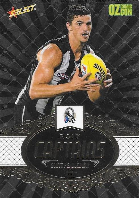 Scott Pendlebury, Captains, Oz Comic Con, 2017 Select AFL