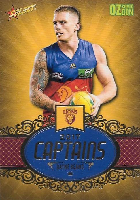 Dayne Beams, Captains, Oz Comic Con, 2017 Select AFL