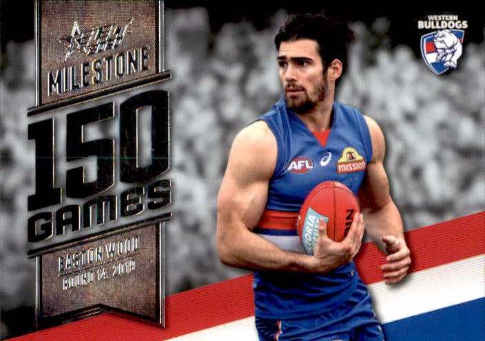 Easton Wood, 150 Games Milestone, 2020 Select AFL Footy Stars