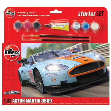 AIRFIX ASTON MARTIN DBR9 GULF 1:32 Model Kit