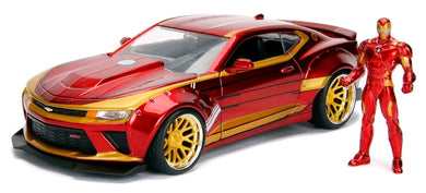 Iron Man - 2016 Chevy Camero SS, 1:24 Scale Diecast Hollywood Rides