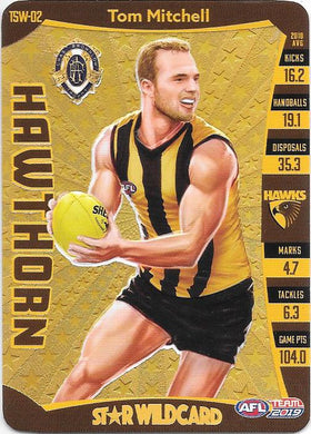 Tom Mitchell, Trophy Star Wildcard, 2019 Teamcoach AFL