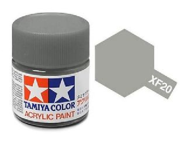TAMIYA ACRYLIC MINI XF-20 MEDIUM GREY 10ml