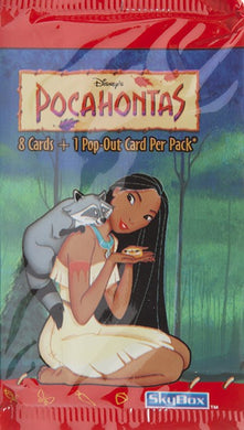 Disney's Pocahontas Trading card Pack