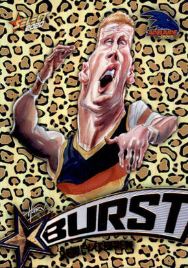 Reilly O'Brien, Leopard Starburst, 2020 Select AFL Footy Stars