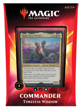 MAGIC: THE GATHERING Ikoria: Lair of Behemoths - Timeless Wisdom Commander Deck