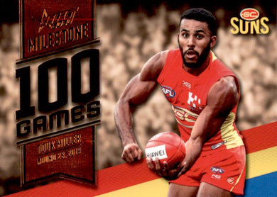 Touk Miller, 100 Games Milestone, 2020 Select AFL Footy Stars