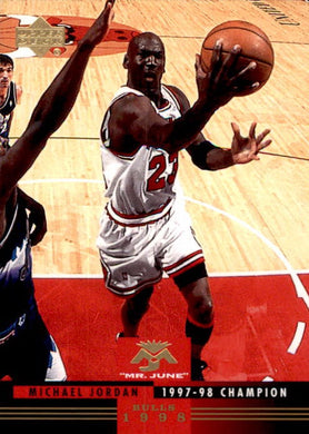Michael Jordan, Mr June, MJ-6, 2008-09 UD Lineage Basketball NBA