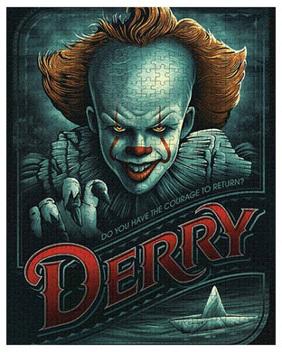 IT Chapter Two, DERRY, 1000 Piece Jigsaw Puzzle