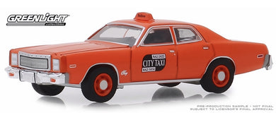 Binghamton NYC Taxi, 1977 Plymouth Fury, 1:64 Diecast Vehicle