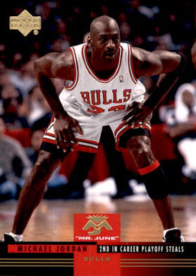 Michael Jordan, Mr June, MJ-20, 2008-09 UD Lineage Basketball NBA