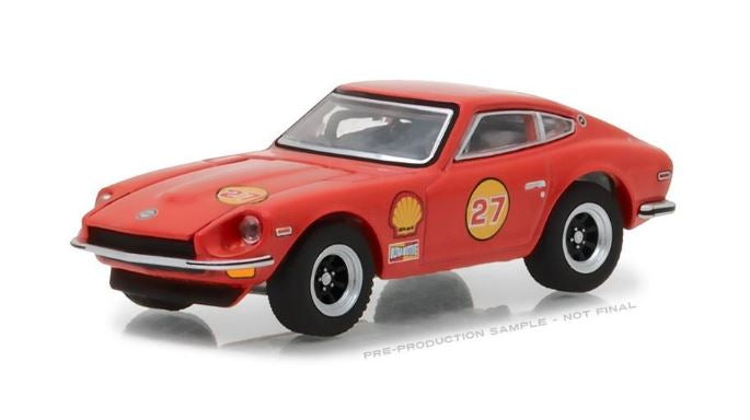 Shell Oil 1971 Datsun 240Z, Running on Empty Series, 1:64 Diecast Vehicle