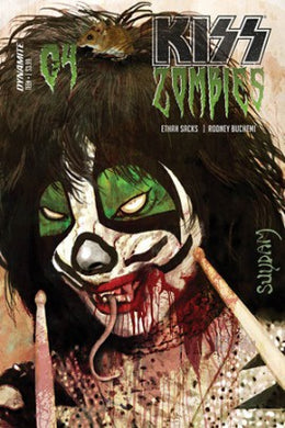 Kiss Zombies #4, Cover A Comic