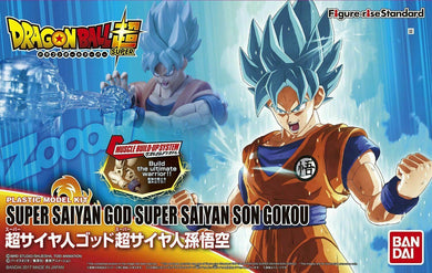 Bandai Dragon Ball Super Saiyan God Super Saiyan Son Gokou Figure-rise Standard Model Kit