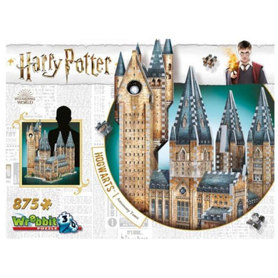 Harry Potter Hogwarts Astronomy Tower 875 Piece 3D Puzzle by Wrebbit