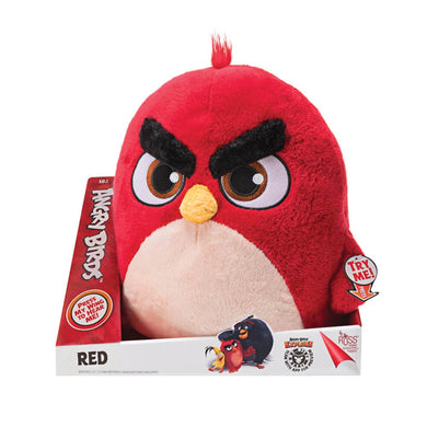 "ANGRY BIRDS - 14"" Red Big Feature Plush"