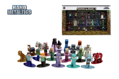 Minecraft - Nano Metalfigs 20-pack wave 02