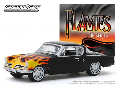 1954 Studebaker Champion, Flames Series, 1:64 Diecast Vehicle