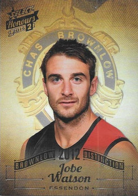 Jobe Watson, Brownlow Distinction, 2015 Select AFL Honours 2