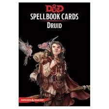 D&D Spellbook Cards Druid Deck (131 Cards) Revised 2018 Edition