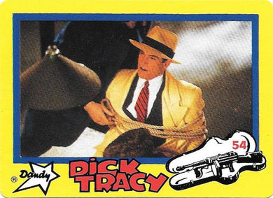 Dick Tracy Movie Collector Cards, Base set of 84 cards