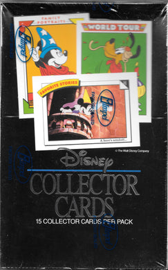 Disney Collector Cards, Series 1, Sealed Box, 1991 Impel