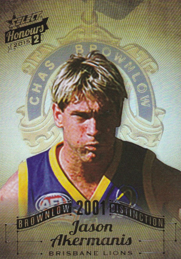 Jason Akermanis, Brownlow Distinction, 2015 Select AFL Honours 2