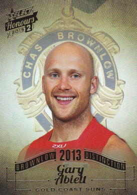 Gary Ablett, Brownlow Distinction, 2015 Select AFL Honours 2