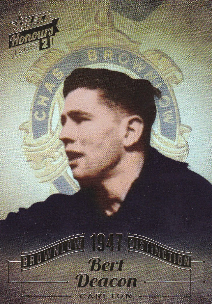 Bert Deacon, Brownlow Distinction, 2015 Select AFL Honours 2