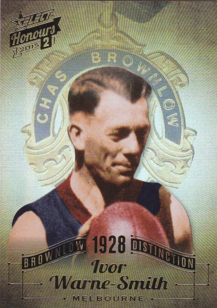 Ivor Warne-Smith, Brownlow Distinction, 2015 Select AFL Honours 2
