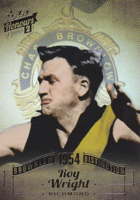 Roy Wright, Brownlow Distinction, 2015 Select AFL Honours 2