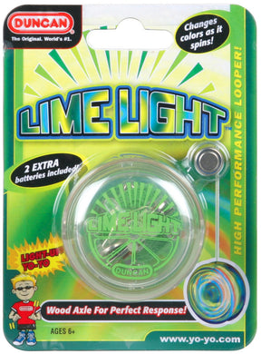 Duncan Yo Yo Beginner Lime Light