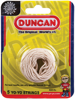 Duncan Yo Yo Strings 5 Pack White