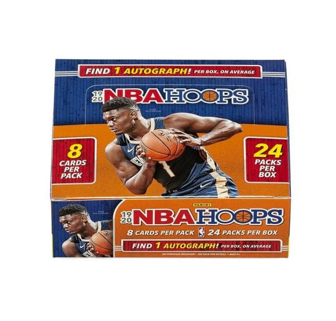 2019-20 Panini Hoops Basketball Retail Box