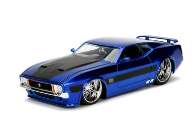1973 Ford Mustang MACH 1, Bigtime Muscle, 1:24 Diecast Vehicle