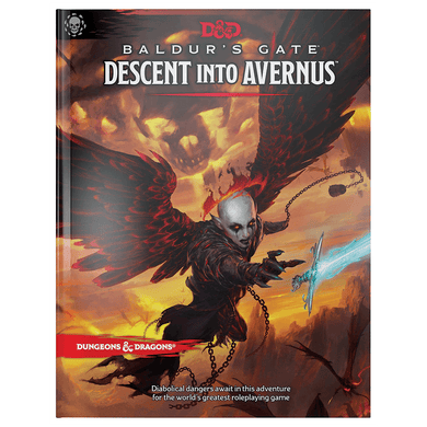 D&D Dungeons & Dragons Baldurs Gate Descent Into Avernus