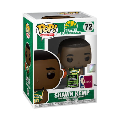 NBA: Sonics - Shawn Kemp ECCC 2020 Exclusive Pop! Vinyl [RS]