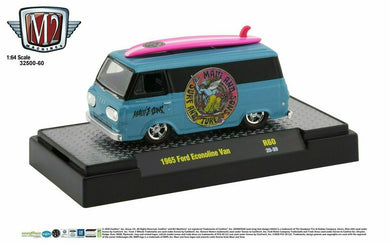 1965 Ford Econoline Van, Maui & Sons, M2 Machines, 1:64 Diecast Vehicle