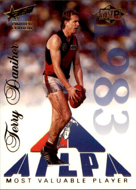Terry Daniher, MVP, 1995 Select Limited Edition AFL Sensation