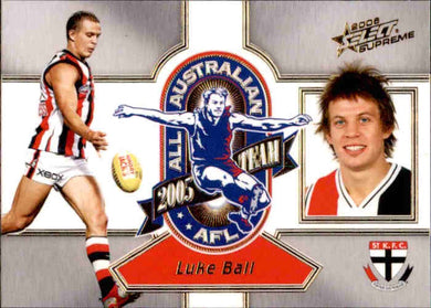 Luke Ball, All-Australian, 2006 Select AFL Supreme