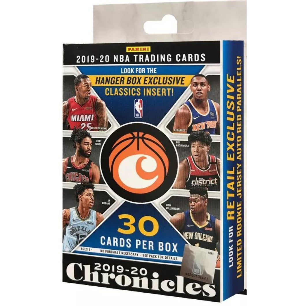 PANINI 2019-20 Chronicles Basketball Hanger Box
