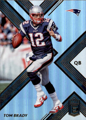 Tom Brady, 2017 Panini Donruss Elite Football NFL
