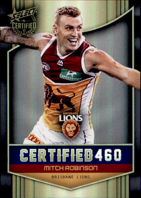 Mitch Robinson, Certified 460, 2017 Select AFL Certified
