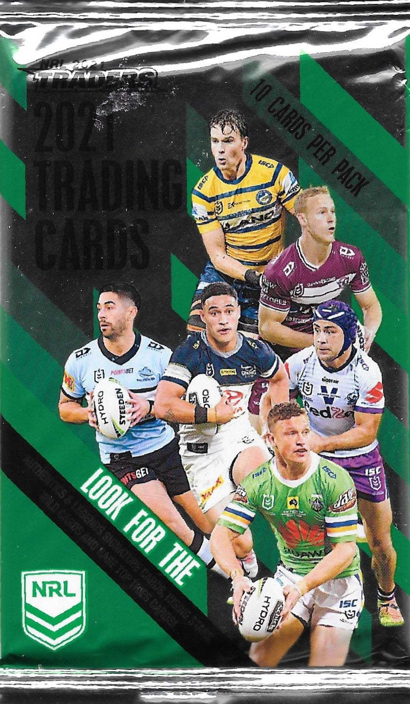 2021 TLA Traders NRL Rugby League Pack