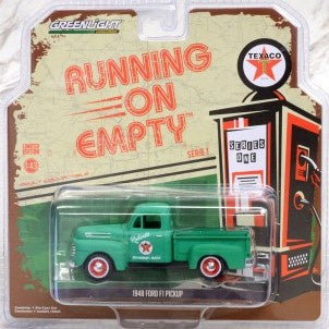 1948 Ford F1 Pickup Texaco, Running on Empty Series, 1:43 Diecast Vehicle