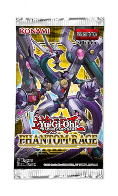 YU-GI-OH! TCG Phantom Rage - 9 card Booster Pack