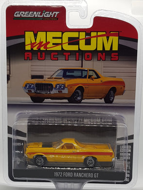 1972 Ford Rancero GT, Mecum Auctions, 1:64 Diecast Vehicle