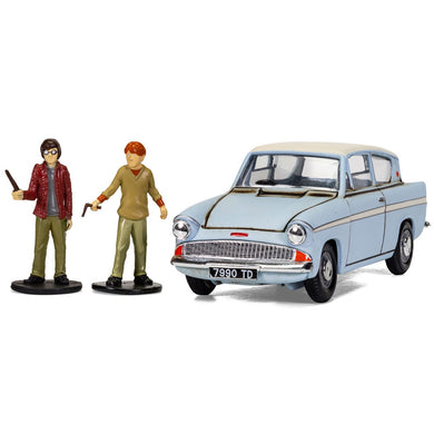 CORGI HARRY POTTER MR WESLEY'S ENCHANTED FORD ANGLIA - CHAMBER OF SECRETS, 1:43 Scale Diecast