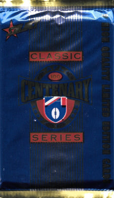 1996 Select AFL Centenary Classic Series Pack