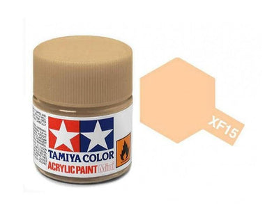 TAMIYA ACRYLIC MINI XF-15 FLAT FLESH 10ml